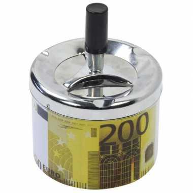 Asbak met draaiende deksel 200 euro