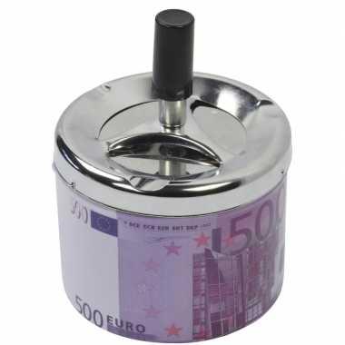 Asbak met draaiende deksel 500 euro